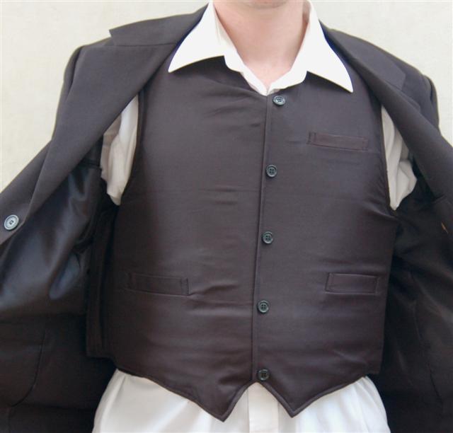 Executive bulletproof Vest Protection Level III-A