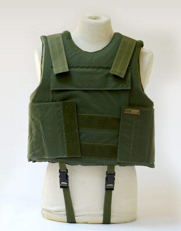 Body Armor Vest with flotation capability