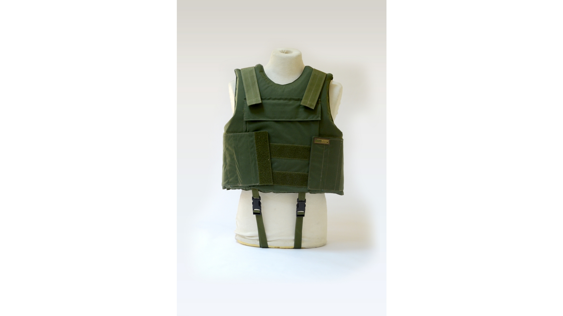 Body Armor Vest with flotation capability
