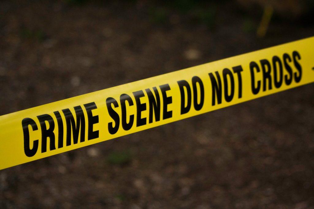 private investigator crime scene