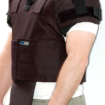 external body armor level III A with neck protection
