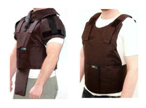 External Body armor protection level III-A_Detachable add-ons