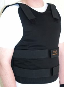 Concealable Bulletproof Vest Level III-A color Black Anti Stab Level 1