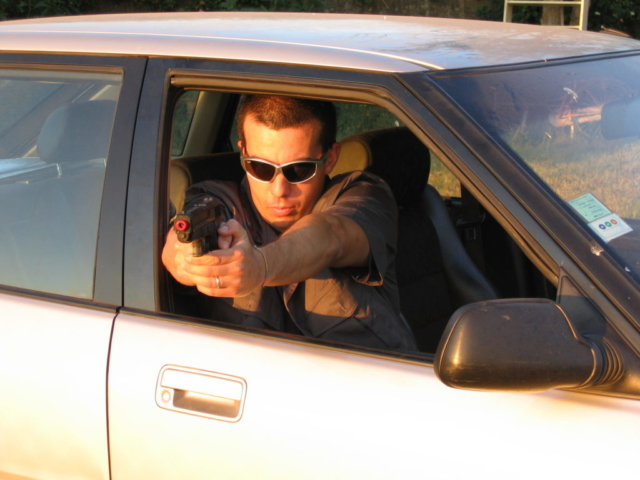 Shooting from a vehicle