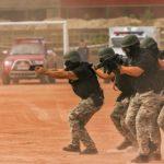 SWAT Team drill