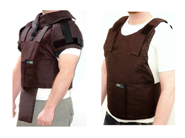 External Body Armor Level III-A + Detachable