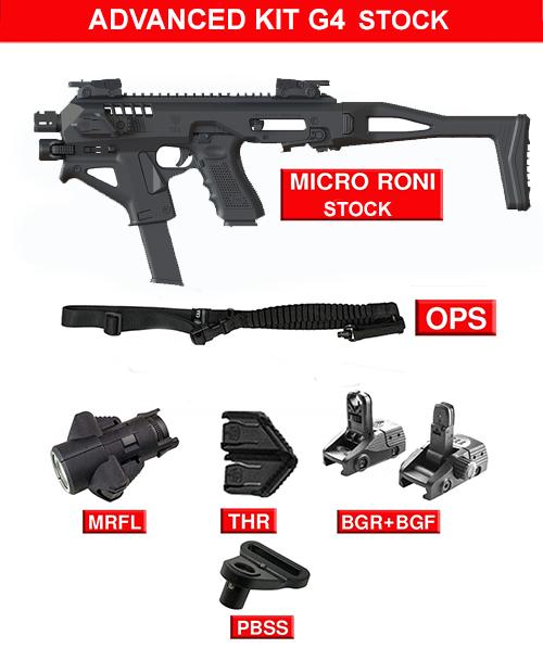 Advanced kit for Micro RONI G4 Stock