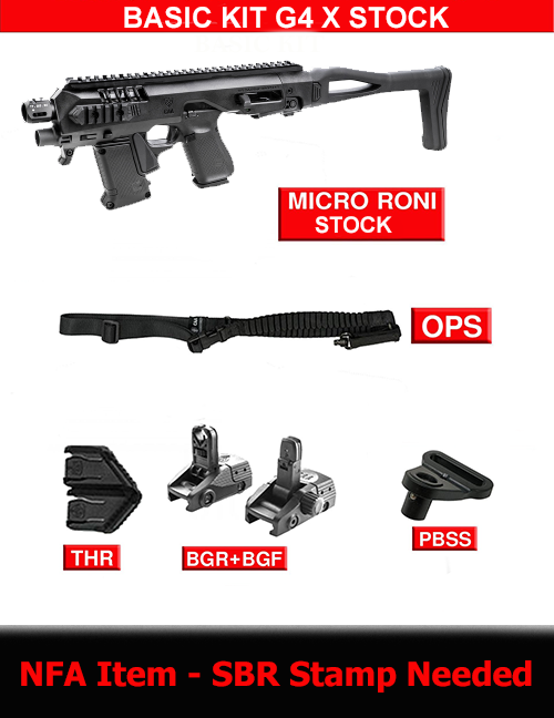 Basic kit for Micro RONI G4X STOCK