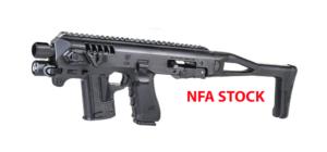 Micro Roni for Glock 19 23 32 NFA Stock