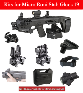 Accessories kit for Micro-Roni-Stab 19