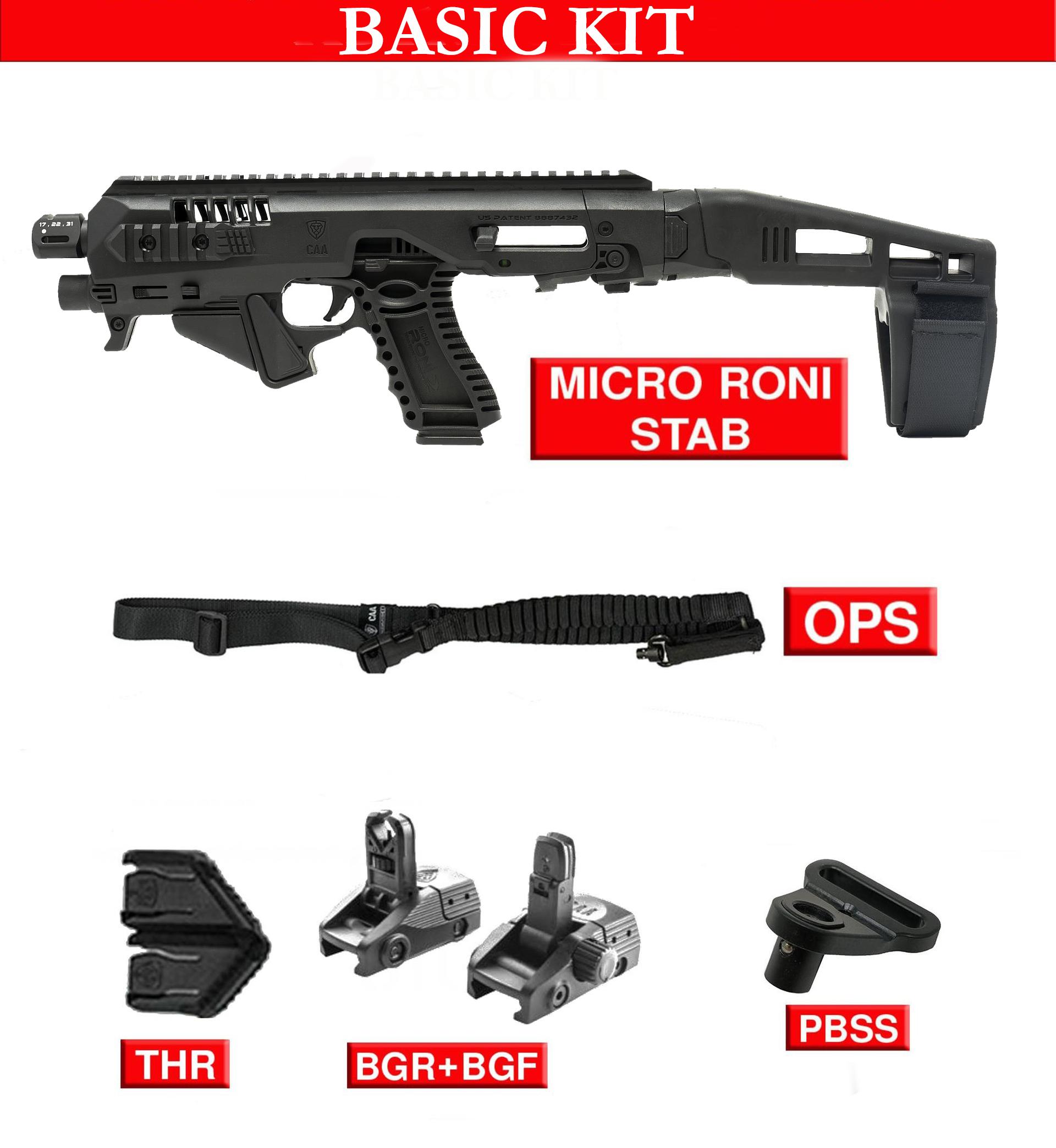Basic kit for Micro RONI X G4 STAB