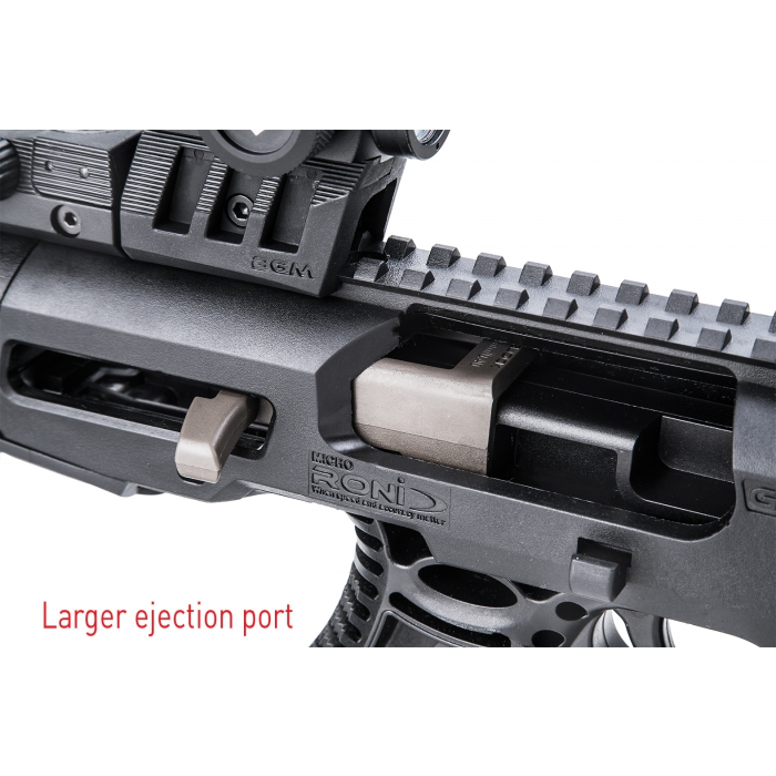 Micro Roni Gen 4 Stock - Larger Ejection Port