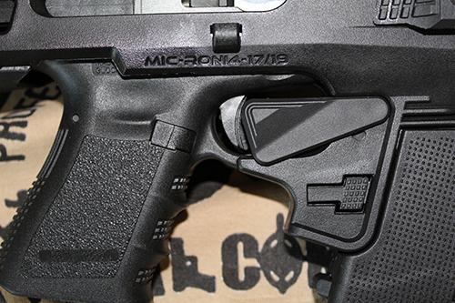 Micro Roni G4 Trigger Guard