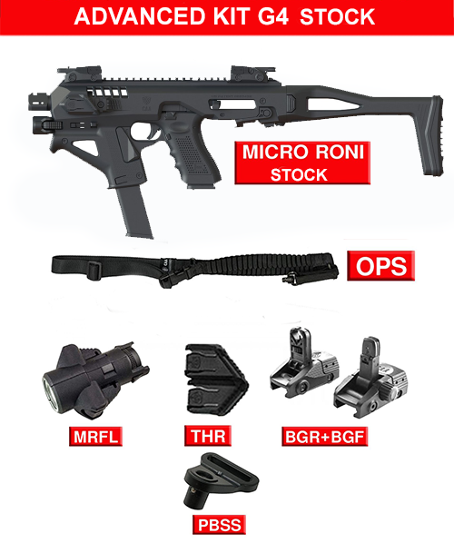 Advanced kit for Micro RONI G4 Stock