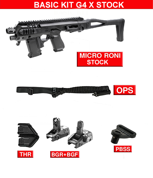 Basic kit for Micro RONI G4X STOCK