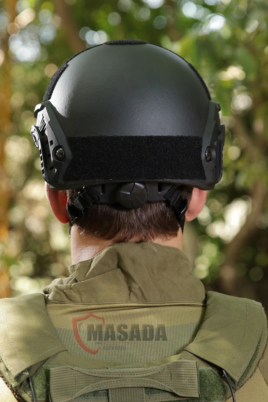 Fast combat helmet Masada Armour Back