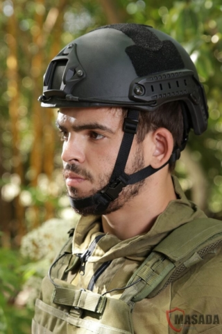 Fast combat helmet Masada Armour Side