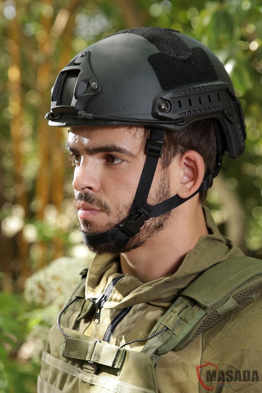 Fast combat helmet Masada Armour Side