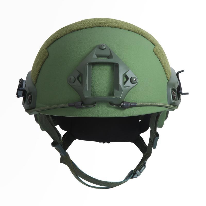 Fast Ballistic Helmet Green Frontal