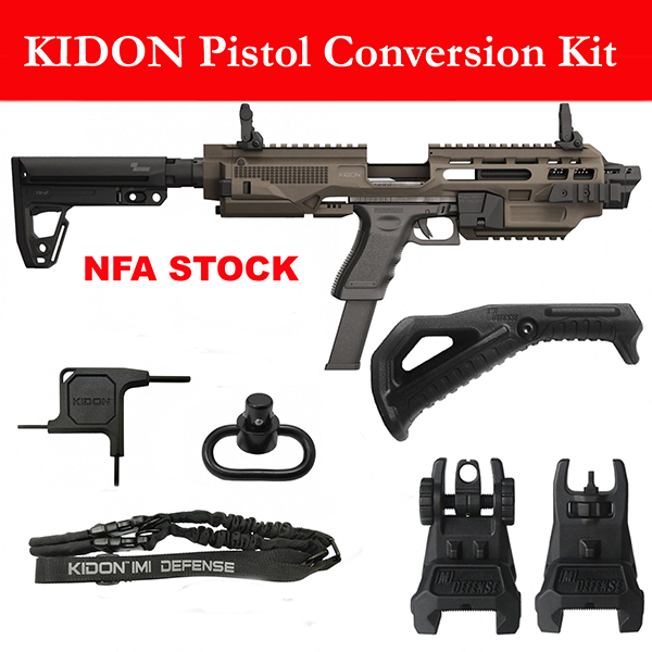 Kidon Pistol Conversion Kit