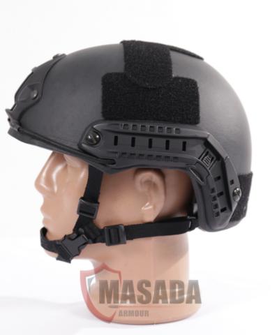 Fast Ballistic Helmet Side Black