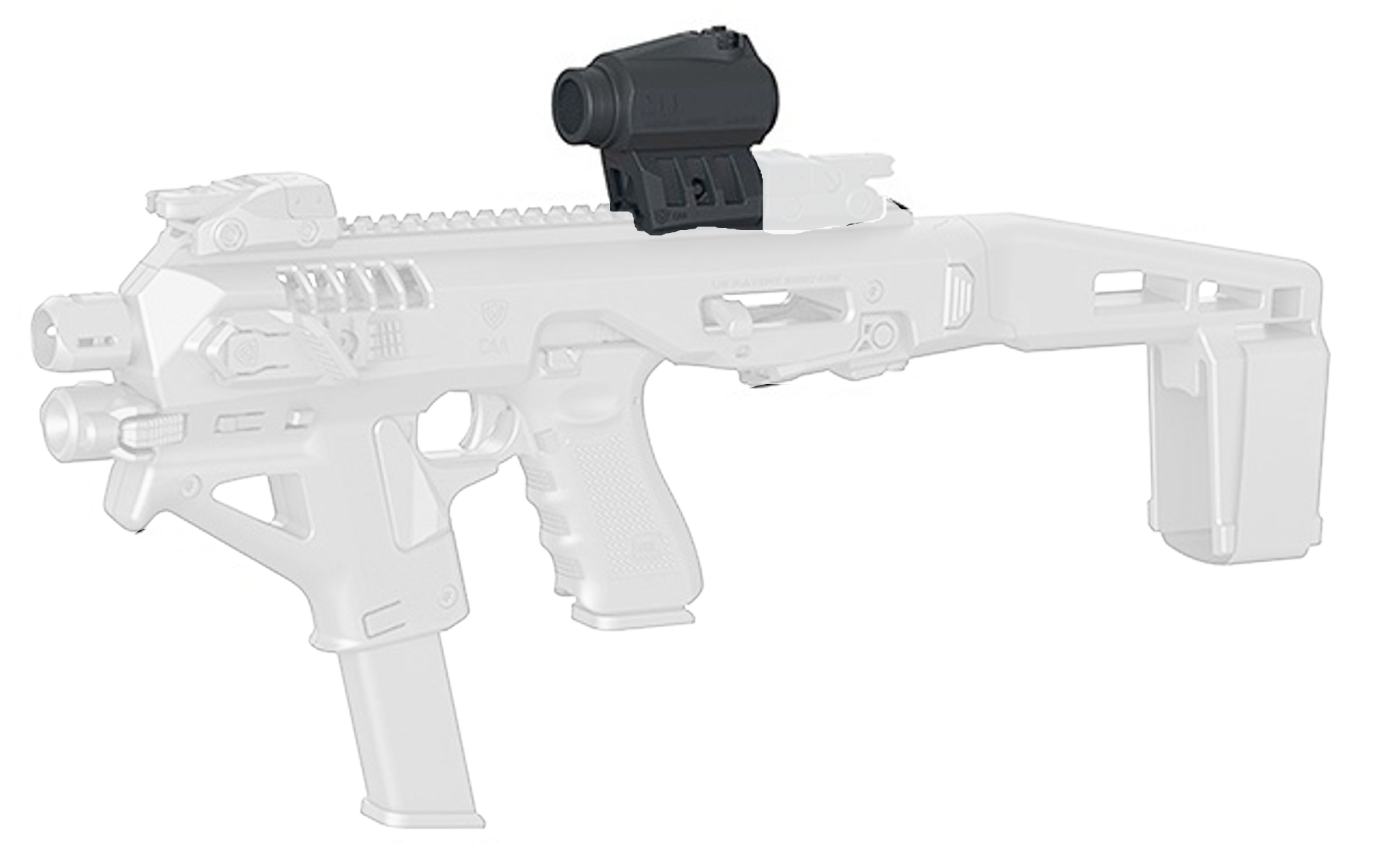 Red Dot Sight + Spacer MRDS/01