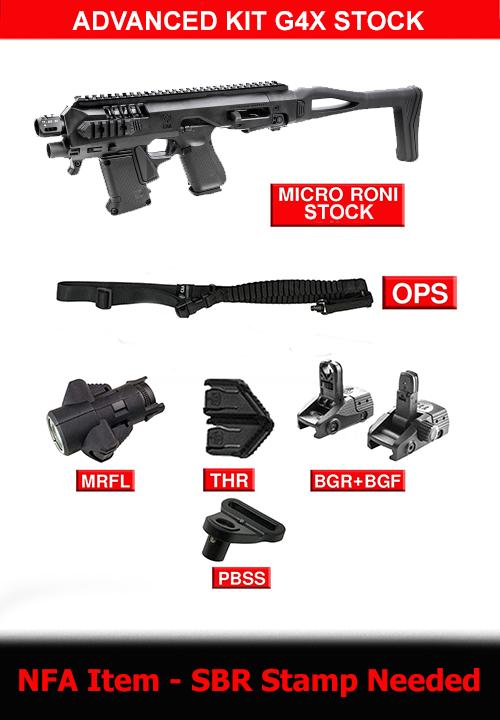 Advanced kit for Micro RONI G4X STOCK