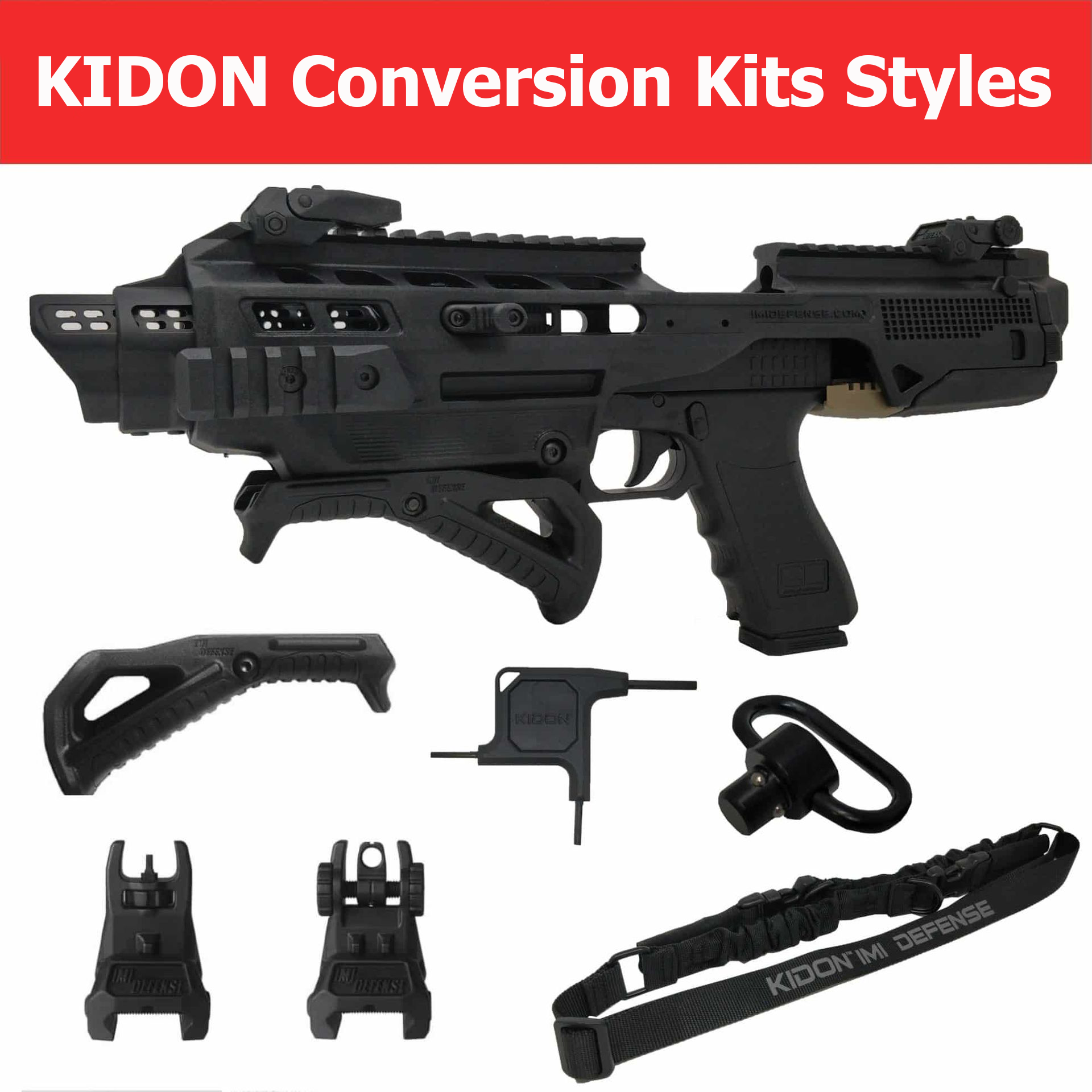 Kidon Conversion Kits Styles