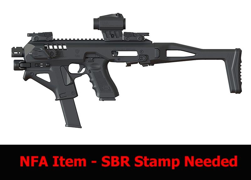 Micro Roni G4 Glock 19_17 NFA Stock
