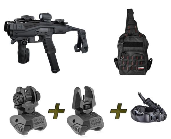 KPOS Scout PRO Fab Defense KPOS PDW Conversion Kit For Glock 17, 19, 22, 23, 25, 31, 32 Gen
