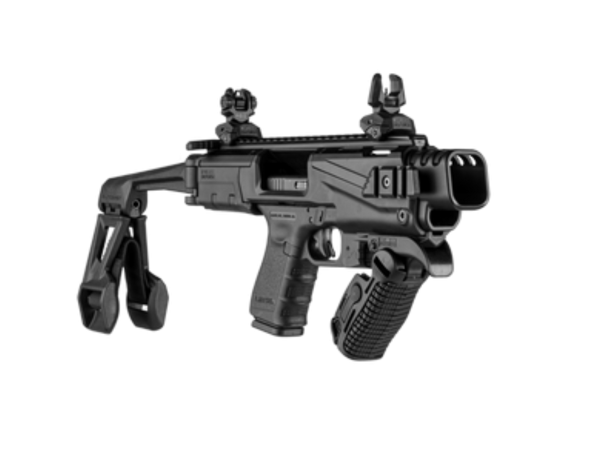 KPOS Scout with Non NFA Brace for Glock 17, 19, 19X, 22