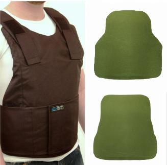 External Body armor + 2 ceramic plates level III